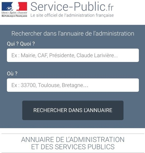 Ouverture de la base de l'organisation administrative de l'Etat - DILA | Veille Open Data France | Scoop.it
