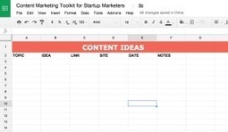 The All-in-One Content Marketing Playbook for Startups | Startup - Growth Hacking | Scoop.it