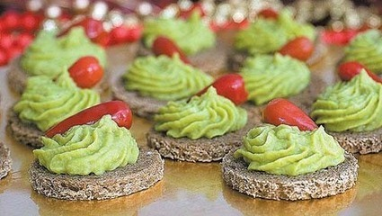 Canapè vegetariani: ricette - GreenStyle | Decorazioni dolci | Scoop.it