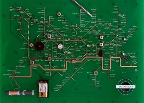 El metro de Londres como un circuito electrónico | tecno4 | Scoop.it