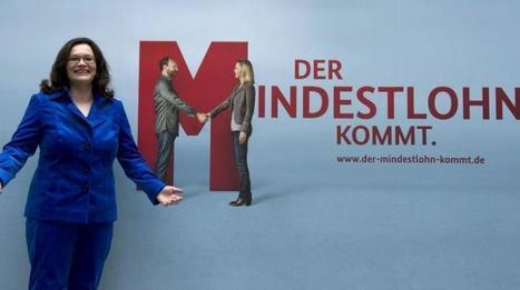L'Allemagne instaure  un salaire minimum | Ouverture sur le monde | Scoop.it