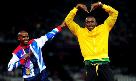London 2012: Mo Farah honoured by Usain Bolt 'Mobot' tribute | Bolt and London 2012 | Scoop.it
