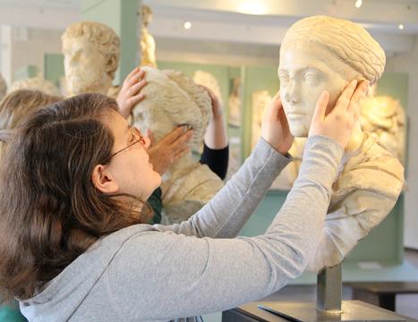 Saint-Sernin. Musée Saint-Raymond : des visites pour les mal voyants | Musée Saint-Raymond, musée des Antiques de Toulouse | Scoop.it