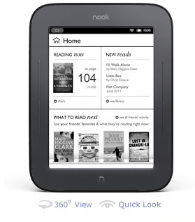 Review: 5 reasons the new Nook is the best dedicated ebook reader - ZDNet (blog)   ebook experiment   Scoop.it