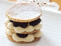 Blackberry mille feuille | Candy Buffet Weddings, Events, Food Station Buffets and Tea Parties | Scoop.it