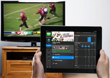 Le fan de sport, fan du second écran | Le deuxième écran, la télévision sociale en marche. | Scoop.it