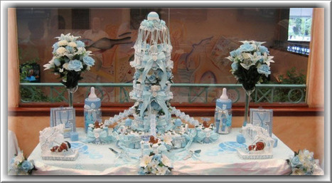 Diaper Cakes | Baby Shower and Diaper Cakes | Scoop.it