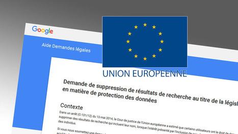 Google étendra les mesures techniques du « droit à l'oubli » en Europe la semaine prochaine | Intelligence Web | Scoop.it