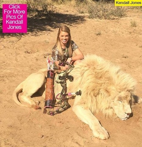 Kendall Jones Slams Critics: I'm Killing Rare Animals As 'Conservation' | conservation & antipoaching | Scoop.it