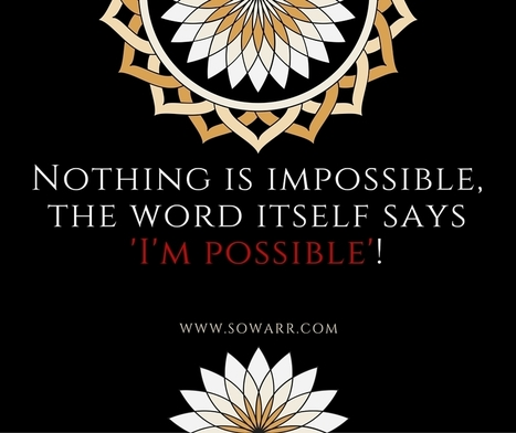 I am impossible quotes | Free Arabic Quotes | Scoop.it