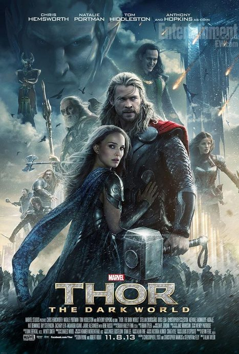 THOR: THE DARK WORLD (2013) Movie Poster 3: The Entire Cast + Villains | Movie News | Scoop.it