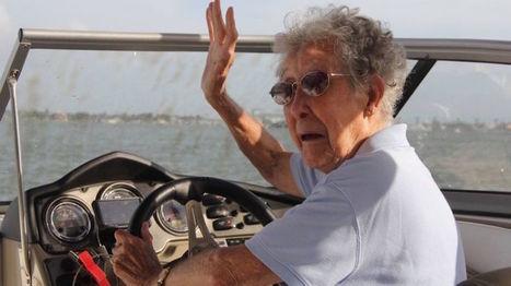 90 ans, goût de la vie plus fort que la médecine. A la chimio, elle préfère le road-trip | Methode DISC et communication | Scoop.it