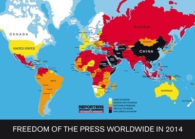 Press freedom index reveals wars and terrorist threats weaken Media in West Africa   NGOs in Human Rights, Peace and Development   Scoop.it