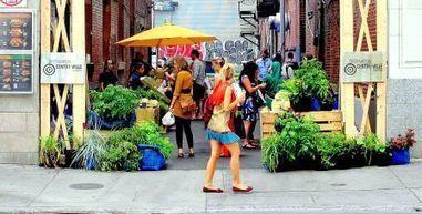 Des ruelles verdissent au centre-ville - Le Devoir (Abonnement) | Villes | Scoop.it