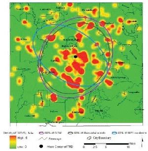 Spatial Analysis of Injury-related Deaths in Dallas | Geographic Information Technology | Scoop.it