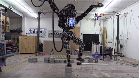 DARPA's Atlas robot learns karate | Technologeek | Scoop.it