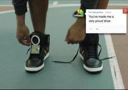Google unveils 'smart shoes' at SXSW   TCEA 2014 -  Tools and Gadgets   Scoop.it
