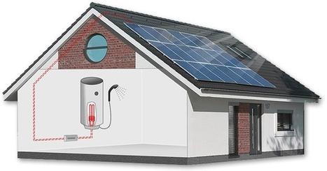 Fotovoltaický ohřev vody 1,5 kWp | Geodetické práce | Scoop.it