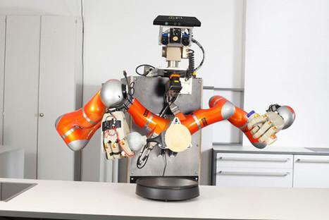 Ils veulent créer un robot capable de cuisiner tout seul | Post-Sapiens, les êtres technologiques | Scoop.it