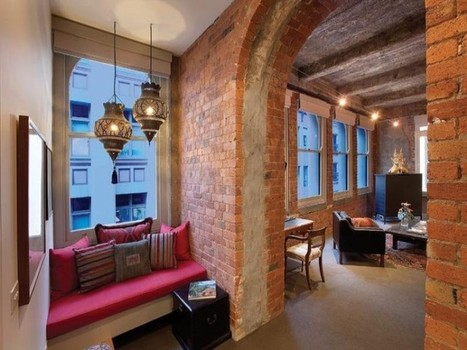 Cool Warehouse Conversion into an Apartment | Interior Decorating ... | Raw and Real Interior Design | Scoop.it