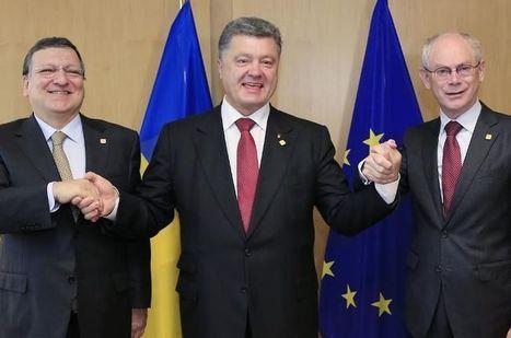 L'Ukraine signe un accord historique avec l'UE   Union Européenne, une construction dans la tourmente   Scoop.it
