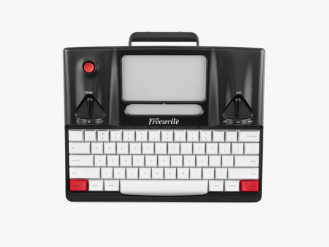 Bookish #writing tool: the Retro Freewrite Word Processor via @wired | All Things Bookish: All about books, all the time | Scoop.it