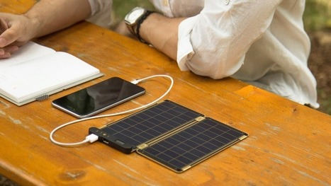 Paper-thin solar charger could be just the thing for stylish outdoorsy types | Embodied Zeitgeist | Scoop.it