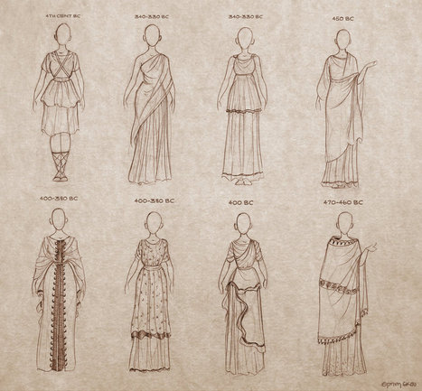 Ancient Greek Dresses | Ancient Art History Summary | Scoop.it