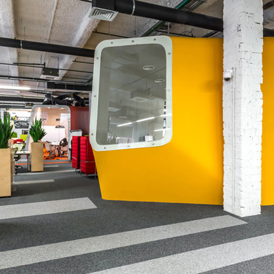 Colourful pods house meeting rooms in offices by Za Bor Architects | bureau : espace innovant | Scoop.it