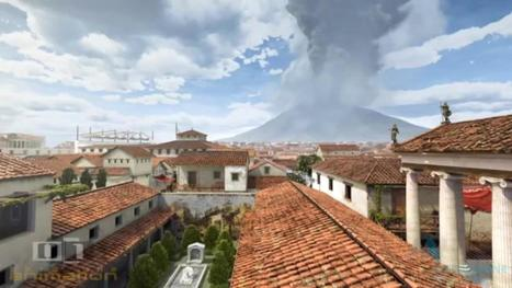 Watch the Destruction of Pompeii by Mount Vesuvius, Re-Created with Computer Animation (79 AD) | Navigate | Scoop.it