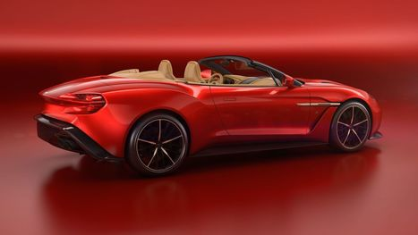 Aston Martin made a convertible Vanquish Zagato and of course it's amazing | Heron | Scoop.it