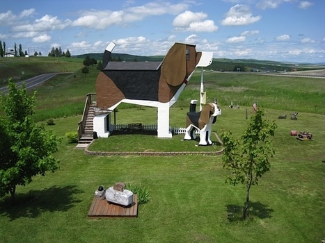 For $100 a Night, You Can Stay in a Bed and Breakfast Shaped Like a Beagle | Le It e Amo ✪ | Scoop.it