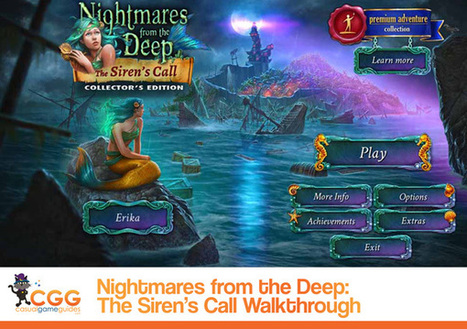 Nightmares from the Deep: The Siren's Call Walkthrough: From CasualGameGuides.com | Casual Game Walkthroughs | Scoop.it