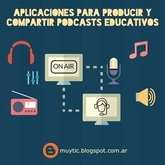 7 aplicaciones para producir y compartir podcasts educativos | TIC para la educación | TIC en el aula | Scoop.it