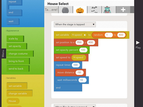 Moving at the Speed of Creativity | Preparing for STEM Lessons on Coding with Hopscotch for iPad | STEM Connections | Scoop.it