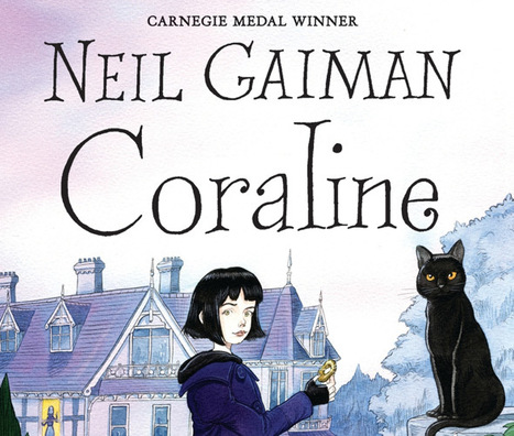 Kids' Book Club: Coraline by Neil Gaiman - Parentdish | Young Adult and Children's Stories | Scoop.it
