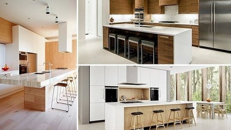 15 Incredibly Clean And Sharp Modern Kitchen Designs | Home living Spaces - Kitchen - Bathroom - Living | Scoop.it