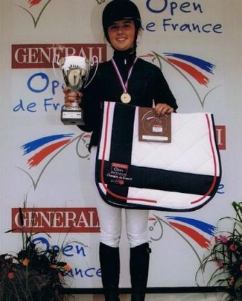 Sérignac. Équitation: Emma Bacqué, championne de France - La Dépêche | Cheval et sport | Scoop.it
