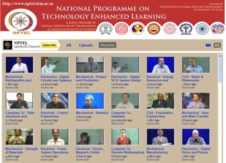 India's Answer to M.I.T. Presents 268 Free Online Courses (in English) | Innovations in e-Learning | Scoop.it