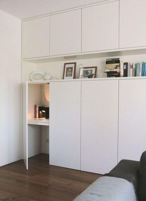 DIY : Le bureau idéal pour les petits espaces ! | décoration & déco | Scoop.it