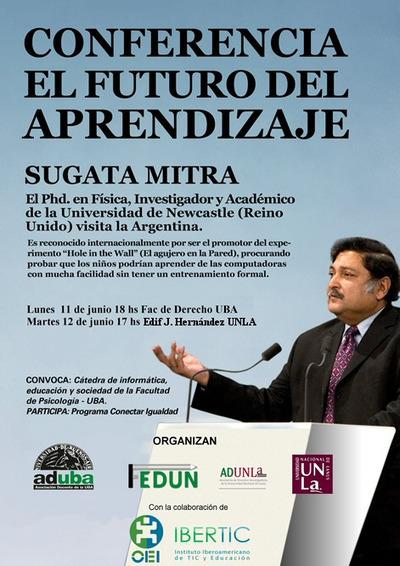 El futuro del aprendizaje Sugata Mitra | Aprendizaje y Organizaciones | Scoop.it