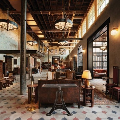 Talk of Texas: San Antonio's New Emma Hotel by Roman and Williams: Remodelista | Kuche Design | Scoop.it