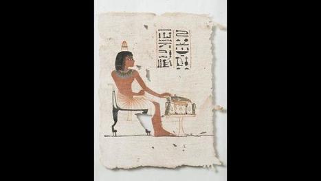 Un rarissime carré de lin funéraire égyptien aux enchères   Le Figaro   Kiosque du monde : Afrique   Scoop.it