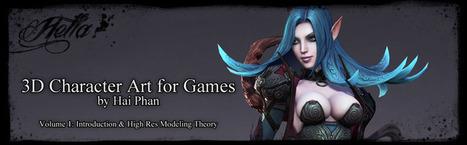 3d Character Art for Games | Animación, videojuegos, tutoriales | Scoop.it
