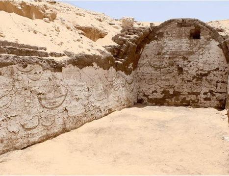 Arqueólogos hallan en Egipto más de 120 imágenes de barcos en un edificio de hace 3.800 años   Educación y Museos   Scoop.it