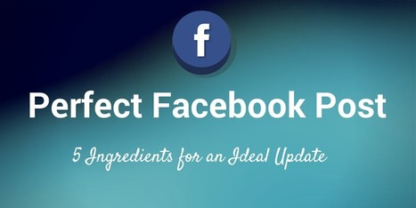 The Anatomy of a Perfect Facebook Post to Maximize Reach & Clicks | Content Marketing | Scoop.it