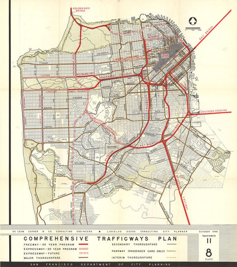 Maps of unrealized city plans reveal what might have been | hobbitlibrarianscoops | Scoop.it