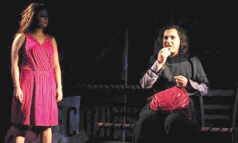 Théâtre : Les larmes noires - LE MATIN.ma | Fenêtre sur le Théâtre arabe | Scoop.it