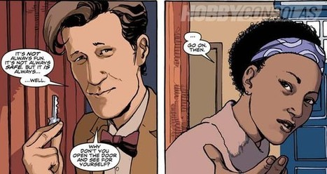 Así son los nuevos cómics de Doctor Who - Hobby Consolas   In the name of the Doctor   Scoop.it