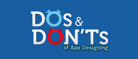 Dos and Don'ts of App Designing   Web Development Blog, News, Articles   Scoop.it